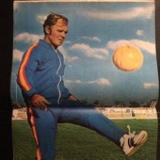 Coleccionismo deportivo: AS. N 38- 8/02/1972. PÓSTER DE KUBALA. Lote 103182611
