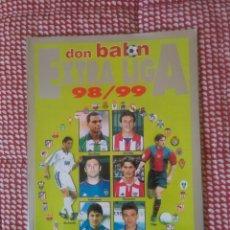 Coleccionismo deportivo: DON BALÓN EXTRA LIGA 1998 - 1999 TEMPORADA DON BALÓN. Lote 103193231