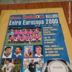 Coleccionismo deportivo: ESPECIAL EXTRA EUROCOPA 2000 DON BALON. Lote 103309303