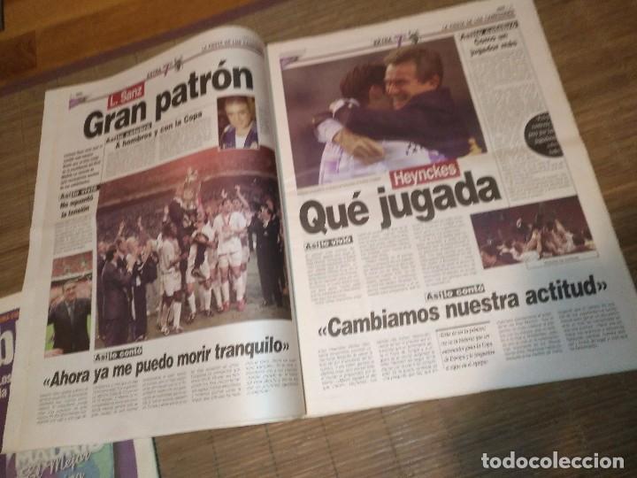 Coleccionismo deportivo: DIARIO MARCA 21 MAYO 1998 + EDICION ESPECIAL REAL MADRID 7ª COPA EUROPA - Foto 9 - 113205203