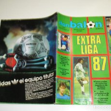 Coleccionismo deportivo: EXTRA LIGA DON BALON 87- 88 1987 - 1988 EXTRA NUMERO 12 BUEN ESTADO VER FOTOS. Lote 103446027