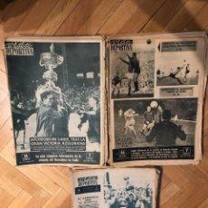 Coleccionismo deportivo: VIDA DEPORTIVA. 160 PERIÓDICOS AÑOS 50 Y 60. Lote 103561843
