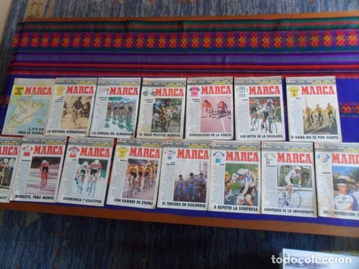 MARCA CICLISMO 91 COMPLETA 15 FASCÍCULOS COLECCIONABLES PARA SEGUIR LA VUELTA A ESPAÑA. (Coleccionismo Deportivo - Revistas y Periódicos - Marca)