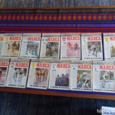 Coleccionismo deportivo: MARCA CICLISMO 91 COMPLETA 15 FASCÍCULOS COLECCIONABLES PARA SEGUIR LA VUELTA A ESPAÑA.. Lote 103754011