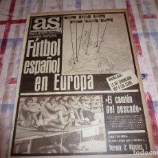 Coleccionismo deportivo: AS(17-9-84)ISLANDIA,CARLOS CARDÚS(MOTOS)SEVE BALLESTEROS(GOLF)R.MADRID EN HUELGA!!!. Lote 103779911