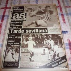 Coleccionismo deportivo: AS(19-11-84)MALAGA 1 BARÇA 2 !!!BETIS 4 R.MADRID 1 !!!AT.MADRID -SEVILLA,BUYO.. Lote 103782595