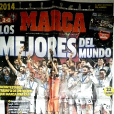 Coleccionismo deportivo: PERIÓDICO AS REAL MADRID CAMPEÓN MUNDO MUNDIAL CLUBS 2014. Lote 103805318