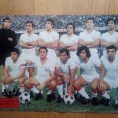 Coleccionismo deportivo: POSTER AS COLOR 107 SEVILLA F.C. TEMPORADA 1972 1973 72 73. Lote 103882219