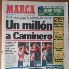 Coleccionismo deportivo: DIARIO MARCAR FUTBOL 1995 - UN MILLON A CAMINERO . Lote 104141831