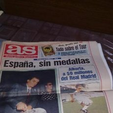 Coleccionismo deportivo: DIARIO AS VIERNES 2 DE JULIO DE 1993 - ESPECIAL AS - TOUR 93 - INDURAIN AS DE ORO . Lote 104182375