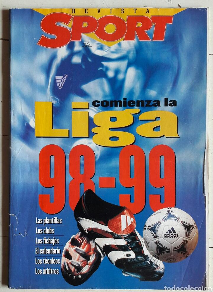 REVISTA SPORT 98 99 (Coleccionismo Deportivo - Revistas y Periódicos - Sport)