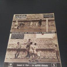 Coleccionismo deportivo: VIDA DEPORTIVA. N° 772. (27/06/1960).FINAL COPA GENERALISIMO. AT.MADRID, 3 - REAL MADRID, 1. Lote 104421923