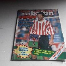 Coleccionismo deportivo: REVISTA ....DON BALON....N° 993.....AÑO XVIII...1993...CON EL POSTER DEL REAL VALLADOLID........ Lote 104425599