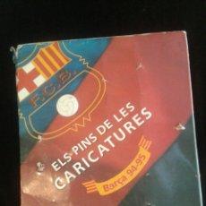 Coleccionismo deportivo: ELS PINS DE LES CARICATURES. 94-95. Lote 104455434