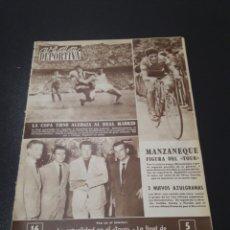 Coleccionismo deportivo: VIDA DEPORTIVA. N° 825. (03/07/1961).FINAL COPA. AT.MADRID,3 -R.MADRID,2. Lote 104603775