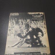 Coleccionismo deportivo: VIDA DEPORTIVA. N° 900. (10/12/1962).JACK JOHNSON. BARCELONA,0 - AT.MADRID,0. Lote 104611496