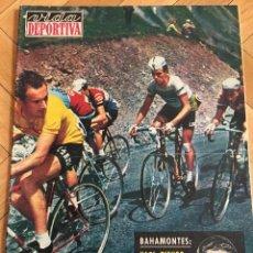 Colecionismo desportivo: CJ VIDA DEPORTIVA (26-6-1964) ESPECIAL DEDICADO AL TOUR FRANCIA BAHAMONTES POBLET PALMARES. Lote 104715735
