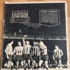 Coleccionismo deportivo: CJ VIDA DEPORTIVA (25-5-1964) BARCELONA FINAL COPA EUROPA REAL MADRID INTERNAZIONALE INTER MILAN. Lote 104719507