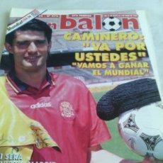 Coleccionismo deportivo: DON BALON N-970 AÑO 1994 MUNDIAL USA 94. Lote 104729971