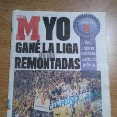 Coleccionismo deportivo: DIARIO MARCA -18 JUNIO 2007CAMPEON DE LIGA 2006-2007 30 LIGAS REAL MADRID LA LIGA DE LAS REMONTADAS. Lote 104732479