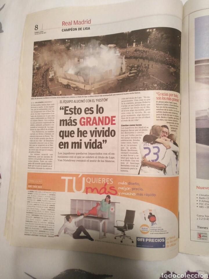 Coleccionismo deportivo: DIARIO MARCA -18 junio 2007CAMPEON DE LIGA 2006-2007 30 LIGAS REAL MADRID LA LIGA DE LAS REMONTADAS - Foto 6 - 104732479
