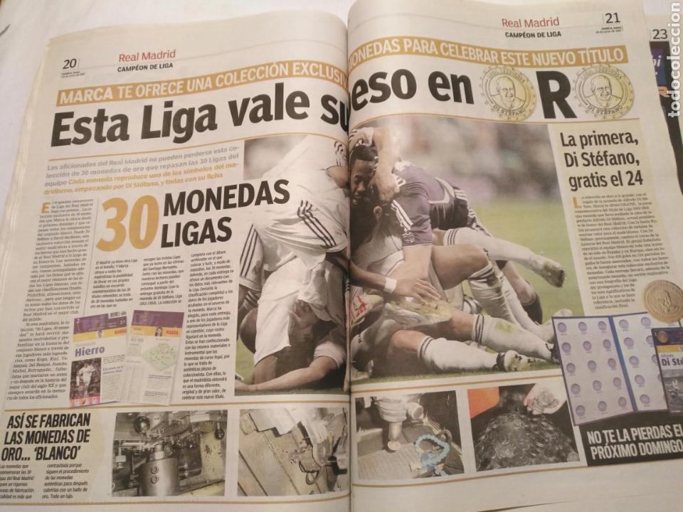 Coleccionismo deportivo: DIARIO MARCA -18 junio 2007CAMPEON DE LIGA 2006-2007 30 LIGAS REAL MADRID LA LIGA DE LAS REMONTADAS - Foto 9 - 104732479