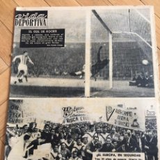 Coleccionismo deportivo: CJ VIDA DEPORTIVA (3-6-1963) ASCENSO C.D. EUROPA INGLATERRA ESPAÑA SAN MAMES BARCELONA VALLADOLID. Lote 105342927