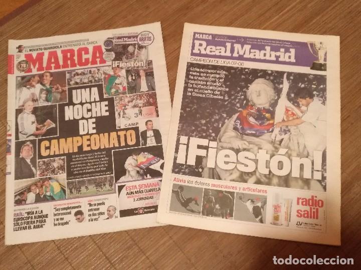 DIARIO MARCA -06 MAYO 2008 CAMPEON DE LIGA 2076-2008 31 LIGAS REAL MADRID CON SUPLEMENTO ESPECIAL (Coleccionismo Deportivo - Revistas y Periódicos - Marca)