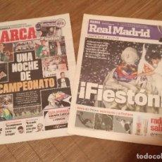 Coleccionismo deportivo: DIARIO MARCA -06 MAYO 2008 CAMPEON DE LIGA 2076-2008 31 LIGAS REAL MADRID CON SUPLEMENTO ESPECIAL. Lote 105365407