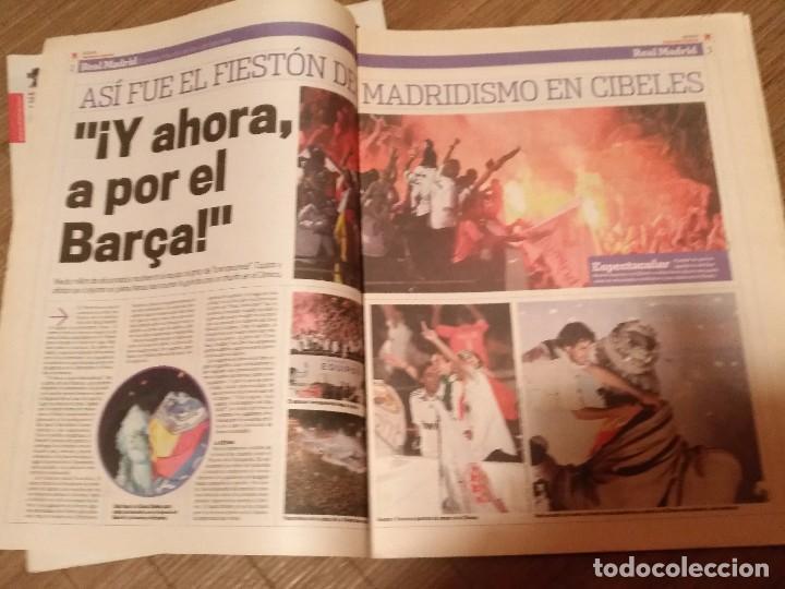 Coleccionismo deportivo: DIARIO MARCA -06 MAYO 2008 CAMPEON DE LIGA 2076-2008 31 LIGAS REAL MADRID CON SUPLEMENTO ESPECIAL - Foto 6 - 105365407