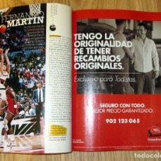 Coleccionismo deportivo: REVISTA AS 50 AÑOS PETROVIC FERNANDO MARTIN MICHAEL JORDAN GASOL NADAL BUTRAGUEÑO ALONSO. Lote 105542947