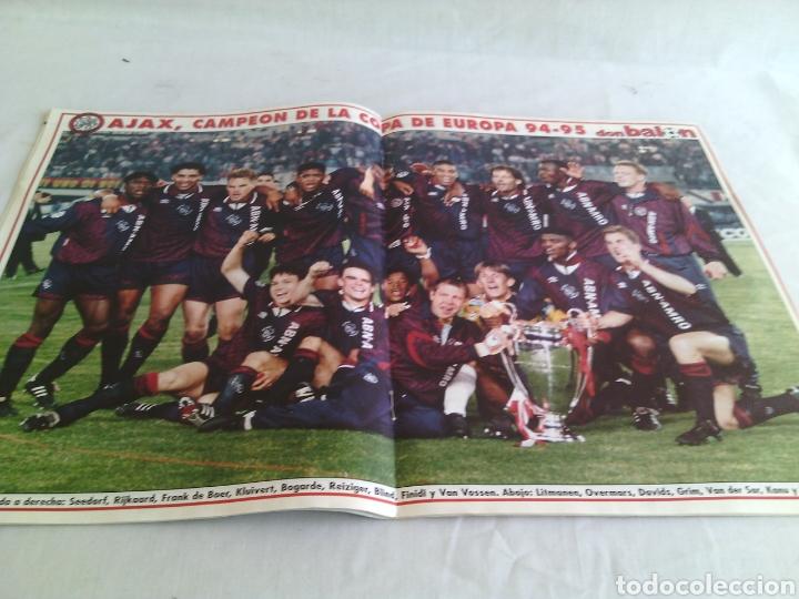Coleccionismo deportivo: DON BALON N-1024 AÑO:1995 POSTER:AJAX CAMPEON EUROPA 94-95 - Foto 2 - 106952354