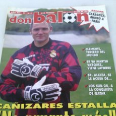 Coleccionismo deportivo: DON BALON N-1017 AÑO:1995 POSTER:NADAL. Lote 105697904