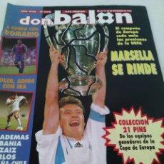 Coleccionismo deportivo: DON BALON N-933 AÑO:1993 POSTER:TONI. Lote 105698687