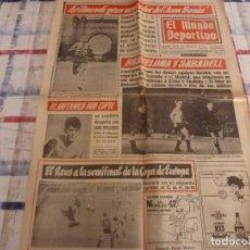 Coleccionismo deportivo: MUNDO DEPORTIVO(12-12-66)BARÇA 2 LAS PALMAS 1,PONTEVEDRA 3 ESPAÑOL 0.. Lote 105785695
