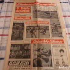 Coleccionismo deportivo: MUNDO DEPORTIVO(17-4-67)ESPAÑOL 1 LAS PALMAS 1,CORUÑA 0 BARÇA 3.. Lote 105785959