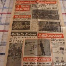 Coleccionismo deportivo: MUNDO DEPORTIVO(24-4-67) BARÇA 2 VALENCIA 1 Y GRANADA 0 ESPAÑOL 3.. Lote 105786715