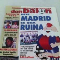 Coleccionismo deportivo: DON BALON N-979 AÑO 1994 SIN/POSTER. Lote 105804960