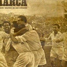 Coleccionismo deportivo: REVISTA MARCA Nº359 18OCTUBRE 1949 PARTIDO ATH BILBAO -CELTA MADRID - AT MADRID . Lote 105903615