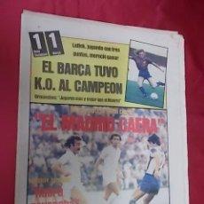 Coleccionismo deportivo: SPORT. Nº 693. 25 OCTUBRE 1981. R. SOCIEDAD, 1- BARCELONA, 1. EL BARÇA DEJO GROGGY AL CAMPEON. Lote 105945091