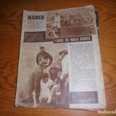 Coleccionismo deportivo: MARCA, SEMANARIO DE DEPORTE Nº 368, 20 DICIEMBRE 1949. EMPATE EN CHAMARTIN. Lote 105970379
