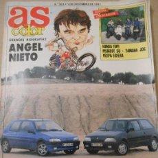 Coleccionismo deportivo: AS COLOR ANGEL NIETO. Nº 303. 1991. Lote 106029023