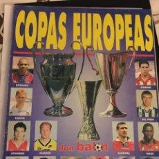 Coleccionismo deportivo: REVISTA EXTRA DON BALÓN COPAS EUROPEAS 96-97. Lote 106107250