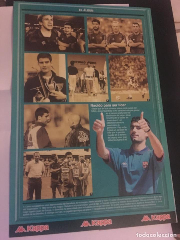 Coleccionismo deportivo: Pep Guardiola Sport la plantilla del Barça FC Barcelona 96-97 ficha - Foto 2 - 106107352