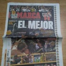 Coleccionismo deportivo: DIARIO MARCA -3 MAYO 2012 CAMPEON DE LIGA 32- REAL MADRID - LA LIGA DE LOS RECORDS EL MEJOR. Lote 106472559