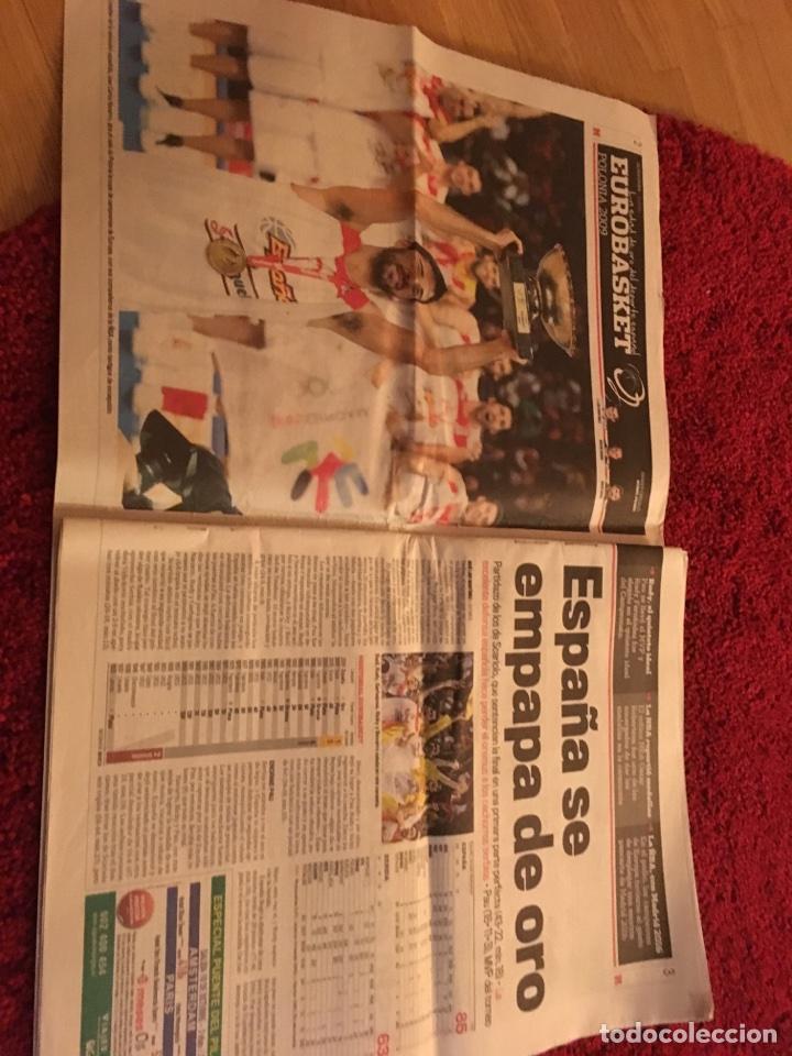 Coleccionismo deportivo: España campeona Europa 2009 marca baloncesto - Foto 3 - 106538284