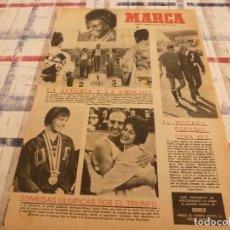 Coleccionismo deportivo: SUPLEM.MARCA(22-10-64)OLIMPIADAS TOKIO ,COPA EUROPA,RECOPA Y COPA FERIAS.. Lote 106624051