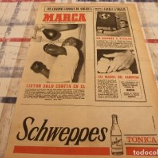Coleccionismo deportivo: SUPLEM.MARCA(5-11-64)DUKLA-R.MADRID EN COPA EUROPA,FOLLEDO(BOXEO)MIKAELA Y LUCIEN MULLER.. Lote 106624451