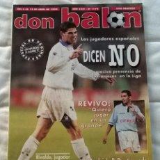 Coleccionismo deportivo: REVISTA DON BALON Nº 1173 - 6 12 ABRIL 1998 - DICEN NO - 80 PAGINAS - LEER ESTADO. Lote 106667463