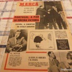Coleccionismo deportivo: SUPLEM.MARCA(12-11-64)LOS ESPAÑA-PORTUGAL,ADELARDO(AT.MADRID) ANTONIO SUAREZ(CICLISMO). Lote 106678019